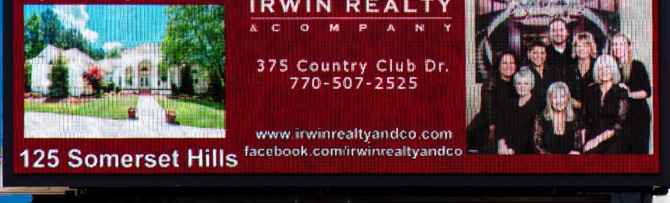 Irwin Realty and Co. New Billboard